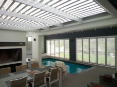 Louvres & Shutters to enclose your entertainment area.